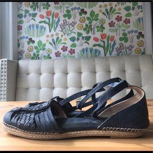 Antik Batik Shoes - Leather Espadrilles